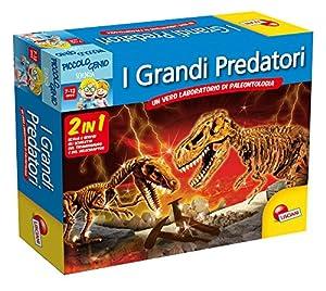 Liscianigiochi 40278 Discovery - Juego Grandes Predadores 2 en 1 (en Italiano) Importado de Italia
