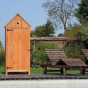 Armoire exterieur de rangement pour terrasse jardin Coffre terrasse bois