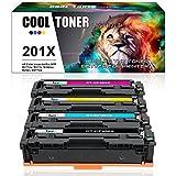 Cool Toner Kompatibel für HP 201A 201X CF400X CF401X CF402X CF403X Toner für Druckerpatrone HP M277DW Toner HP Color Laserjet Pro MFP M277DW Toner MFP M277DW M277N HP Color Laserjet Pro M252DW M252N