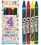 10 X 4 Pack Colour Crayons Party Bags Fillers Toys Kids