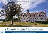 Dessau in Sachsen-Anhalt (Tischkalender 2019 DIN A5 quer): Erkundet man Dessau in Sachsen-Anhalt mit dem Fahrrad fährt man durch viel Landschaft. (Monatskalender, 14 Seiten ) (CALVENDO Orte)
