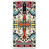 BeCool - Funda Gel Flexible ZTE Blade V220 Colorful Abstract Flowers Carcasa Case Silicona TPU Suave