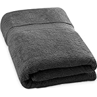 Utopia Towels 700 GSM Premium Cotton Extra Large Bath Towel (89 x 178 cm) Soft Luxury Bath Sheet, Grey