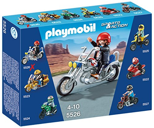 Playmobil Coleccionables - Moto Chopper
