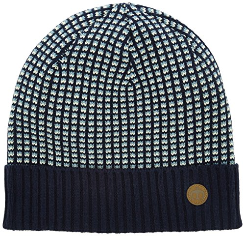 Merc of London Isley, Bonnet Homme, Bleu (Navy 2), Fabricant: Taille Unique