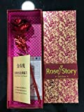 #5: ShopAIS 24K Red Rose with Gift Box and Carry Bag