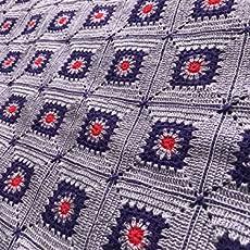 Colcha para cuna de crochet hecha a mano