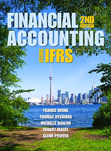 Finanacial Accounting: Using IFRS 2nd Edition
