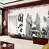 Tantoto 3D Wallpaper Nahtlose Große Wandbilder Tapeten Fernseher Sofa Wand Chinesische Malerei Chinesische Literatur In Der Alten Kunst Der Malereien Und Figuren
