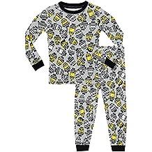 Minions - Pijama para Niños - Mi Villano Favorito - Ajuste Ceñido