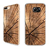 Handyhülle Holz für Samsung | Silikon Natur Tiere Brett Holzhülle Pflanzen Wood, Handy:Samsung Galaxy A5 (2016), Hüllendesign:Design 2 | Silikon Klar
