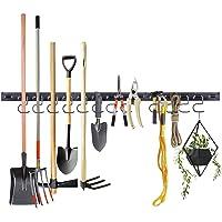 Almabner Cintre à outils de garage, 122,9 cm, robuste, support à outils mural avec une forte capacité de charge…