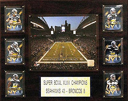 63a1f09b5 C I Collectables CandICollectables 1620CENTLINK NFL 16 x 20 in. CenturyLink  Field Stadium Plaque