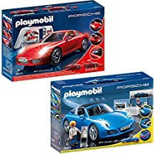 playmobil voiture rouge. Black Bedroom Furniture Sets. Home Design Ideas