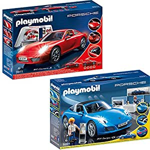 playmobil city action 2 tlg set 3911 5991 porsche 911. Black Bedroom Furniture Sets. Home Design Ideas