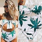 XING GUANG Nouveau Sous-système Buckle Bikini Ladies Maillots De Bain Laisse Imprimer Le Commerce En Europe Et Aux États-Unis Sexy