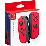 Nintendo Switch Joy-Con Controller Pair (L) / (R) Red (Japan Import) - Mario Odyssey Red Colour