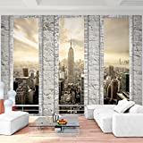 Fototapeten New York 352 x 250 cm Vlies Wand Tapete Wohnzimmer Schlafzimmer Büro Flur Dekoration Wandbilder XXL Moderne Wanddeko - 100% MADE IN GERMANY - NY Stadt City Runa Tapeten 9152011a