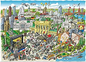 Akena FV2491 - Puzzle (1080 Piezas), Color Liso