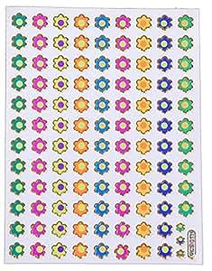Autocollants fleur stickers fleurs Autocollants hippie stickers hippie autocollants enfants 2 feuilles