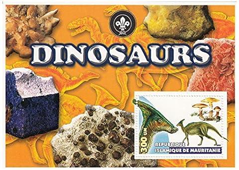 Dinosaures Fossiles - Cette fiche de la Mauritanie, publié en