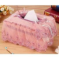 Comparador de precios Z@SS-Caja de tejido de tela Bolsa de papel preciosa del papel de seda del coche de la sala de estar 16 * 12 * 8.5cm , b - precios baratos