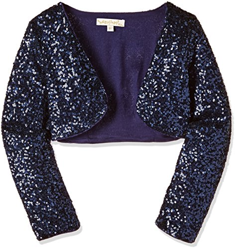Nauti Nati Baby Girls' Jacket (NAW16-625A-18-24M-Navy)