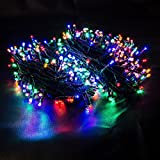 600er LED Lichterkette Multicolor Stimmungslicht Gesamtlänge 70m für Innen &