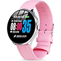 Smartwatch Impermeabile Donna, GOKOO Orologio Intelligente Donna Fitness Tracker Cardiofrequenzimetro, Bracciale…
