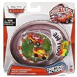 Disney Pixar CARS Micro Drifters - Rip Clutchgoneski, Miguel Camino, WGP Lightning McQueen by Mattel