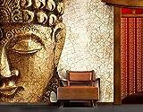 Papiertapete - Fototapete No.183 'ANCIENT BUDDHA' 300x280cm Motivtapete , Größe:280cm x 300cm