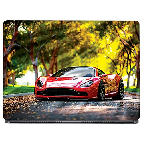 Crazyink CLASSY CAR Laptop Skin Sticker (16 to 17 inch)