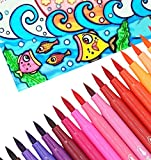 #9: Oytra Water Color Brush Pens | 12 Colours | Fun of Painting Without Mess | No Dripping & No Spilling | Washable & Non Toxic Colour | Unique Design & Smooth Paint Flow