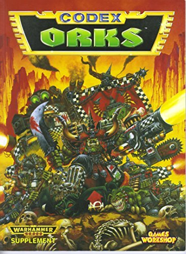 Warhammer 40, 000 Codex: Orks by Jervis Johnson (1994-06-24) par Jervis Johnson