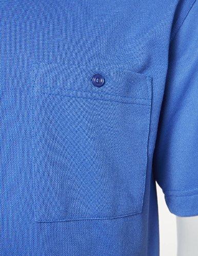 PIONIER WORKWEAR Herren Funktions-Poloshirt Natura in marineblau (Art.-Nr. 2895) Kornblau