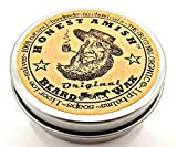 Honest Amish Original Beard Wax - All Natural and Organic by Honest Amish