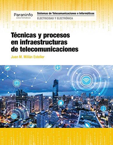 Técnicas y procesos en infraestructuras de telecomunicaciones