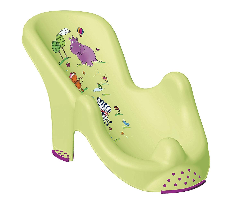 Hippo Green XXL Baby Bathtub 100 cm + Bath Stand + Bath Seat+ Wash Mitt 2