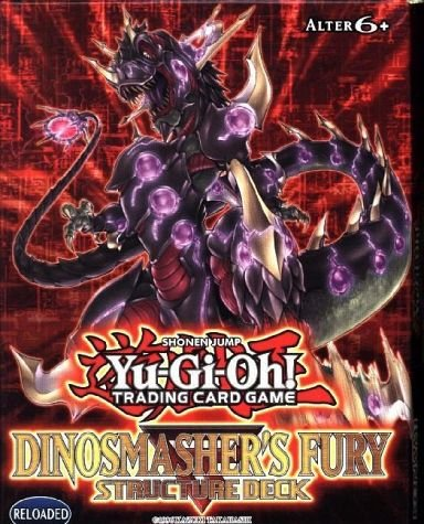 Yugioh Dinosmashers Fury Structure Deck - Machina Yugioh Deck Structure