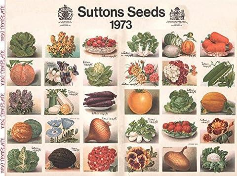 Sutton's Seeds 1973 1000 Piece Jigsaw Puzzle