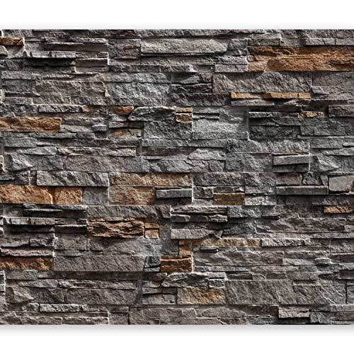 *murando – Fototapete Steinoptik 400×280 cm – Vlies Tapete – Moderne Wanddeko – Design Tapete – Wandtapete – Wand Dekoration – Steintapete Steine Stein Mauer Steinoptik 3D f-B-0086-a-b*