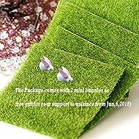 BESTIM INCUK 10 PACK Miniature Fairy Emulation Lawn Home Decoration Outdoor Decor