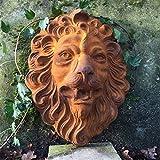 Antikas - Löwenkopf für Wandbrunnen Speier Löwe Brunnen Dekoration, Wasserspeier wie antik