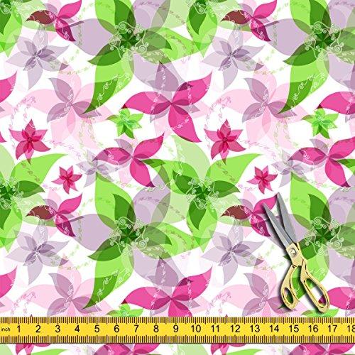 Artzfolio Vintage Paisley Silk Fabric Dress Material & Upholstery 1Metre X 4Metre;Silk Paisley Printed Silk Dress