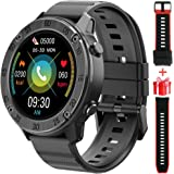 Blackview Montre Connectée Homme Femmes, 1.3 Pouces Montre Intelligente Sport Etanche IP68, Smartwatch Sport avec Fréquence C