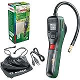 Bosch elektrisk luftpump minikompressor EasyPump (3,0 Ah-batteri, 3,6 Volt, 150 PSI, 10,3 bar, LED), grön/svart