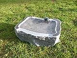 Vogeltränke aus Granit Nr. 21 | Vogelbad aus Naturstein | Unikat | Handarbeit !