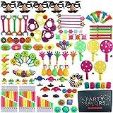 iVansa Kinder Party Spielzeug, 120 Set Kindergeburtstag Mitbringsel Kleine Geschenke für Kinder Mitgebsel Kleinspielzeug Füllstoffe Karneval Preise
