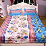 Status cotton rich Double Bed Bedsheet P...