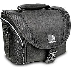 Bolsa para cámara fotográfica y 2 Objetivos Bodyguard SLR M para Nikon